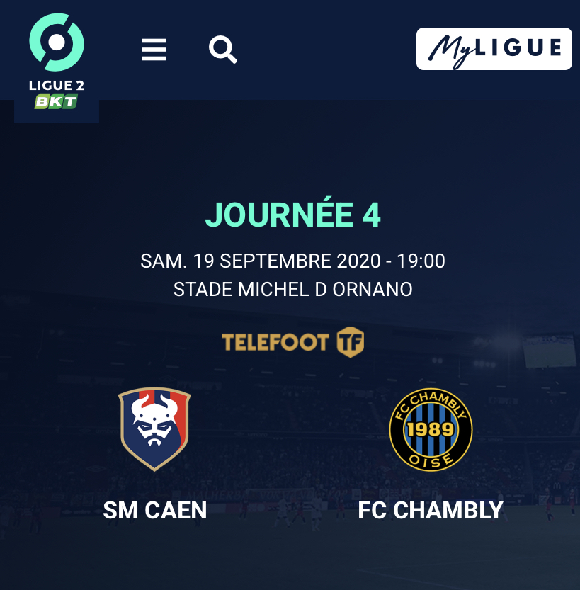 [4e journée de L2] SM Caen - Chambly 9bf51b10