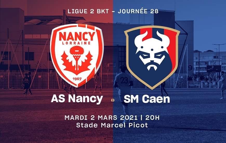 [28e journée de L2] AS Nancy - SM Caen A3bc0510