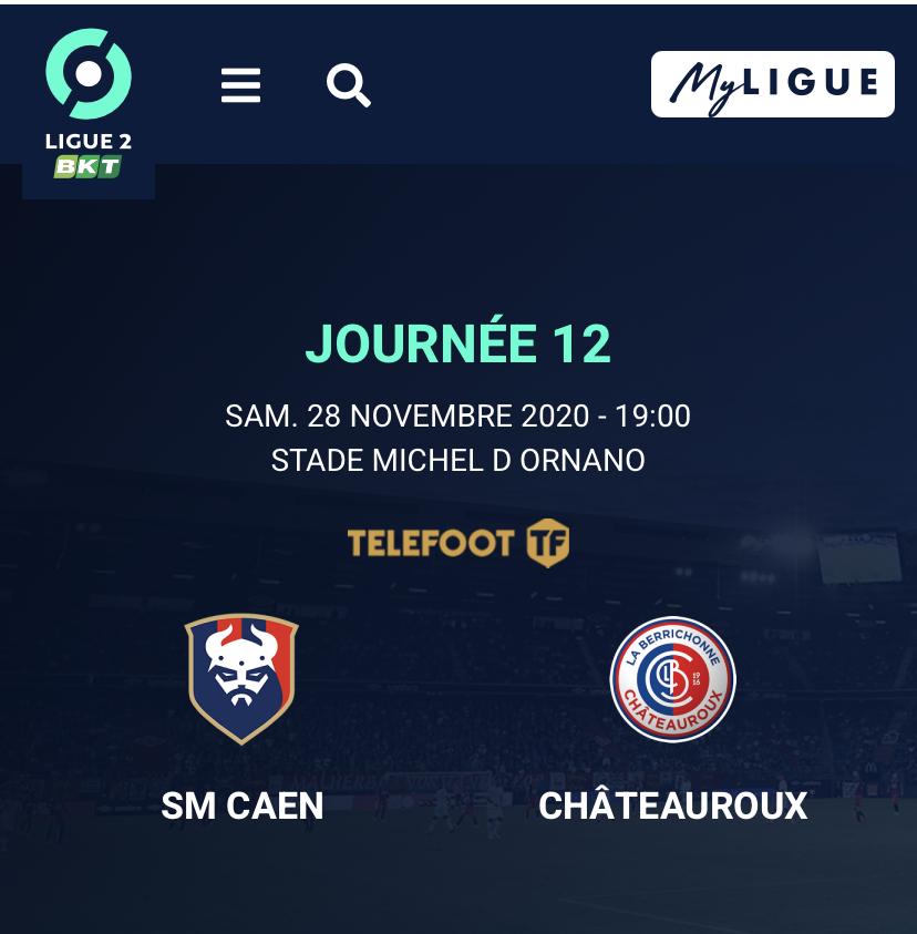 [12e journée de L2] SM Caen - Châteauroux A9e33a10