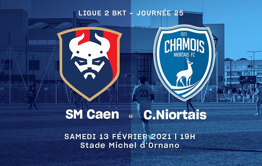 [25e journée de L2] SMCaen - Chamois Niortais B3f9f710