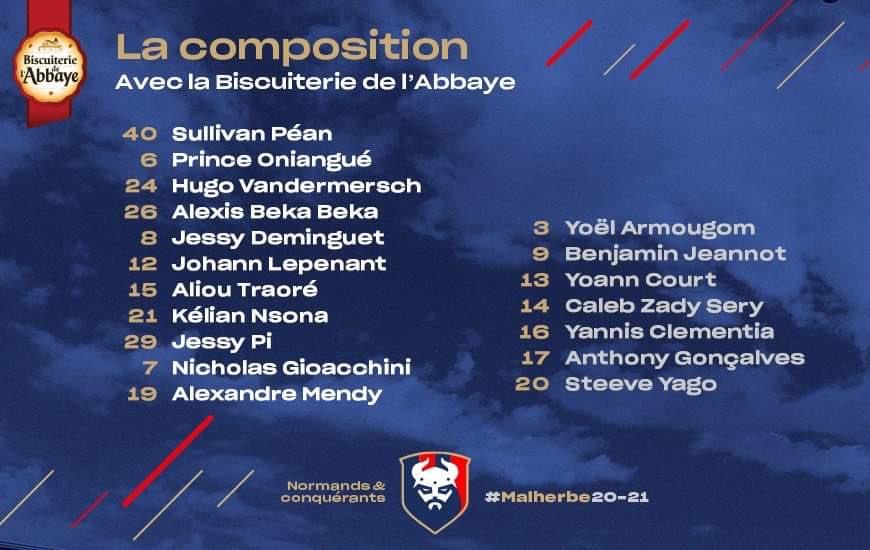 [27e journée de L2] SM Caen - Paris FC B96c7310