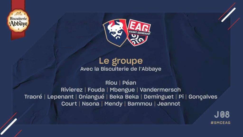 [8e journée de L2] SM Caen - EA Guingamp Bef3bd10