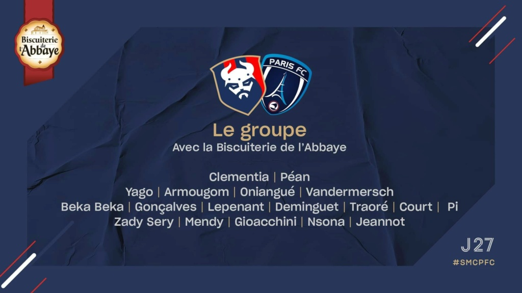 [27e journée de L2] SM Caen - Paris FC Bf305a10