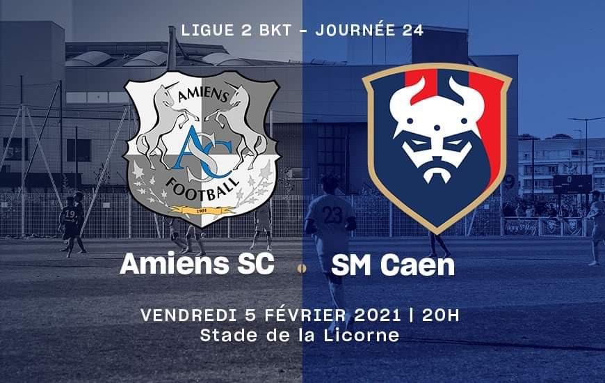 [24e journée de L2] Amiens SC - SM Caen E2b60b10