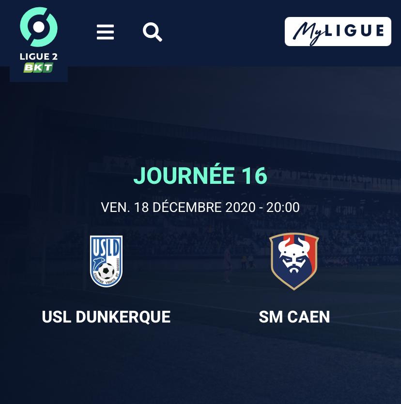 [16e journée de L2] Dunkerque - SM Caen Ea475a10
