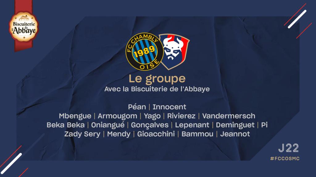 [22e journée de L2] FC Chambly - SM Caen Eaaac910