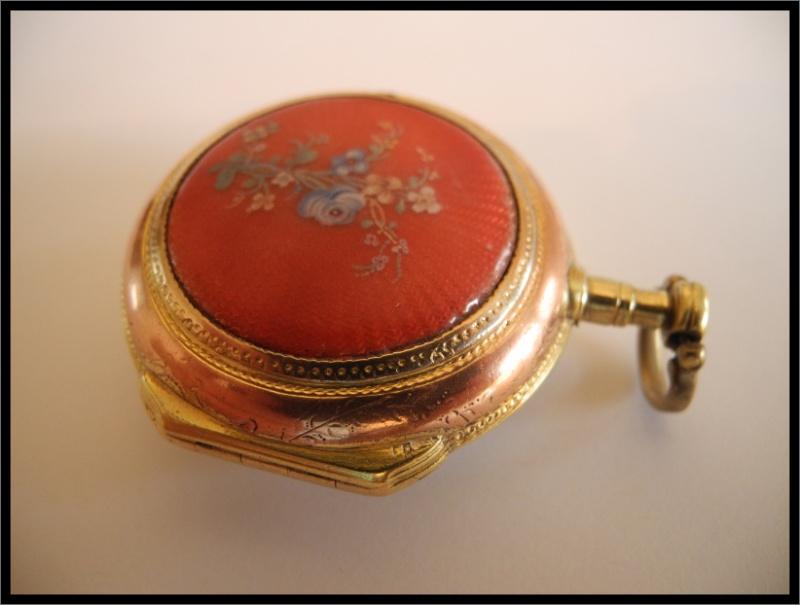 Leton Verge Fusee Pocket Watch Case Hallmark???? Punze_10
