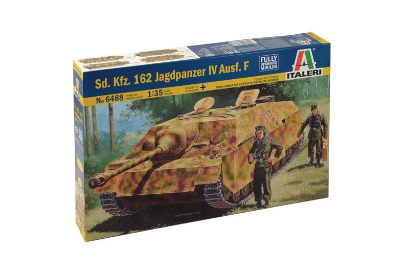 Sd. Kfz. 162 Jagdpanzer IV Ausf. F (1/35 Italeri) 6488_b11