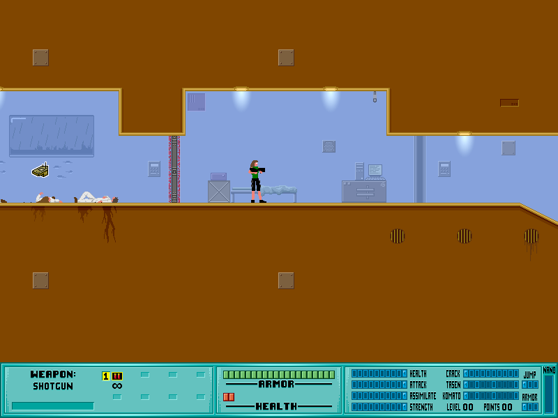 It's not genocide if it was self-defense!  Let's Play Iji! Sector10
