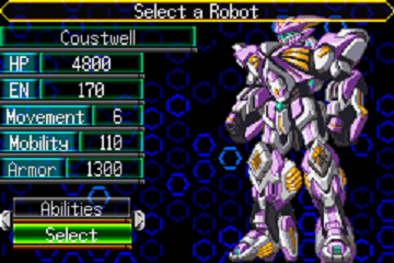 This fist of mine flies with a rocket-y power! Let's Play Super Robot Wars J Coustw10