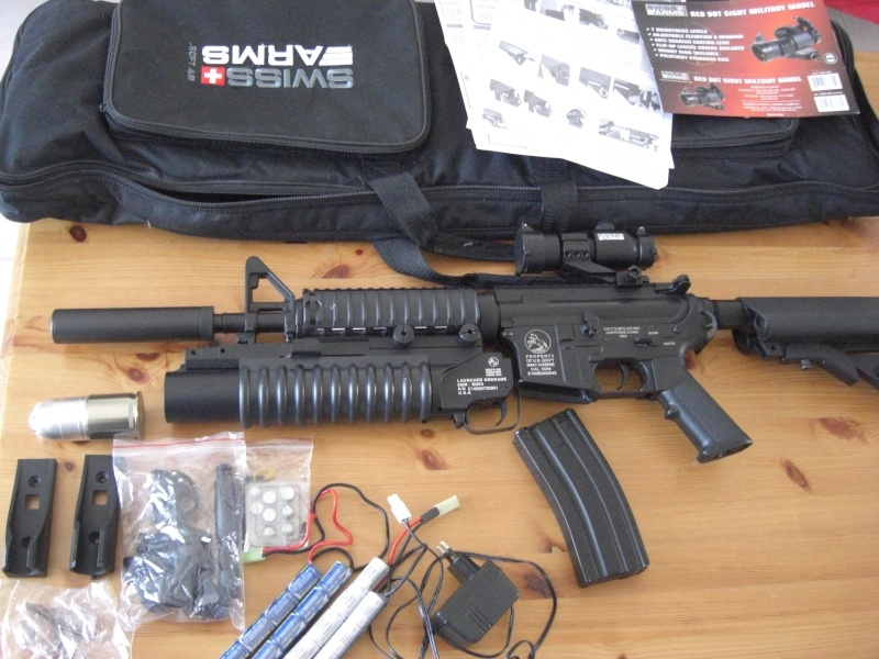 pack airsoft M4a1-c11