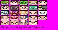 Miniportraids Dragon Ball by Metal_Shadow Dibujo10