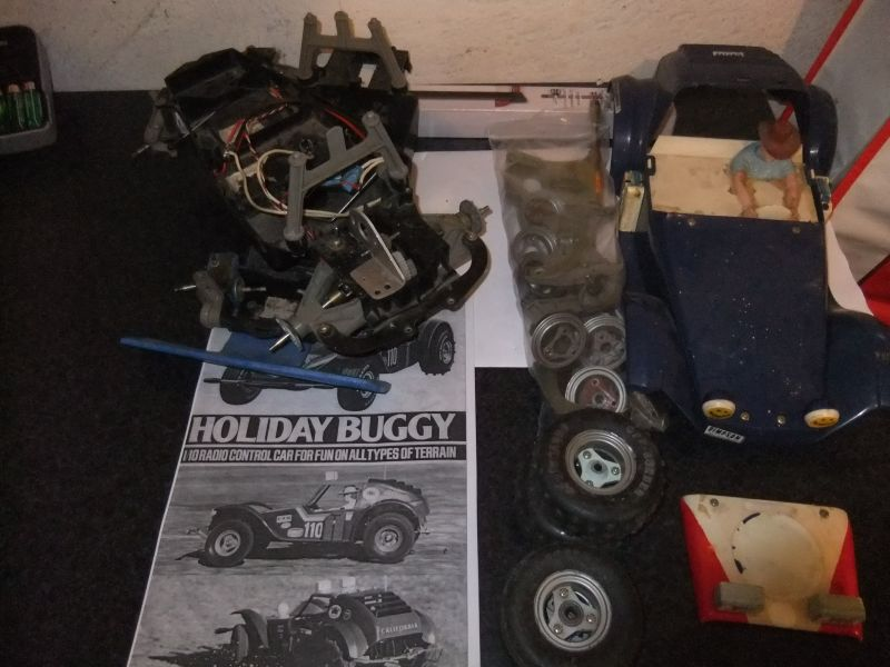 Vintage Rc Cars - Now with Video of the Chevy Stadium Truck :) New Cars!!! Dscf4222