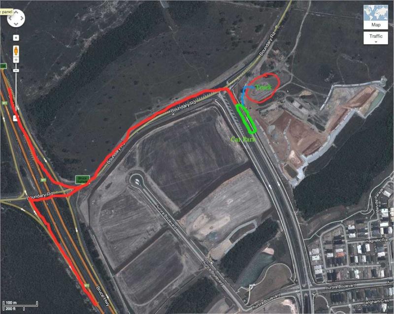 Social Run 5th August Map110