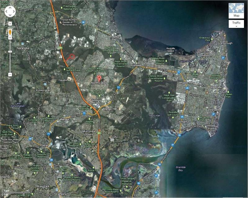 Social Run 5th August Map210