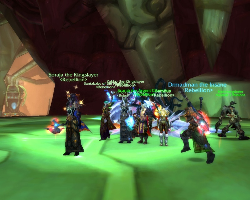 Low level raids events Wowscr32