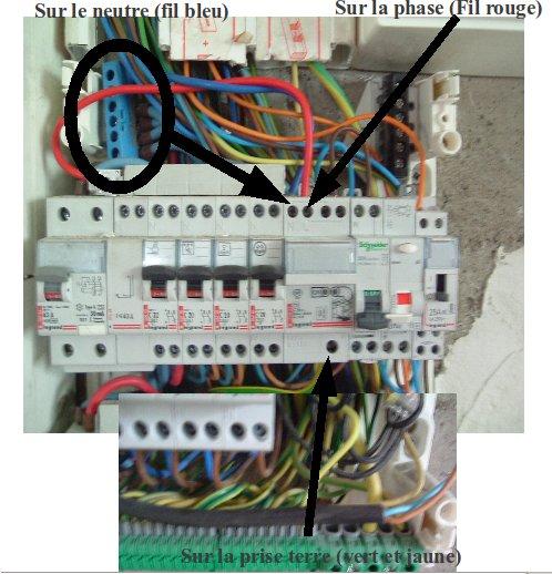Branchement de la borne EV link (Wall box) Branch10