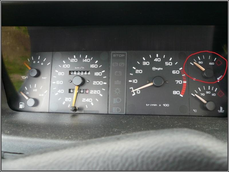 Problème indication température d'huile Compte10