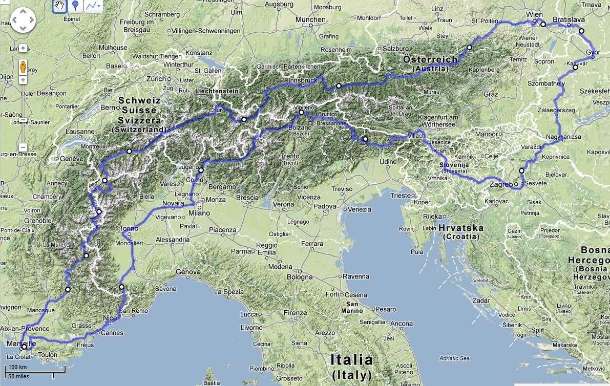 Balade en Ténéré - Suisse, Autriche, Italie Marsei11