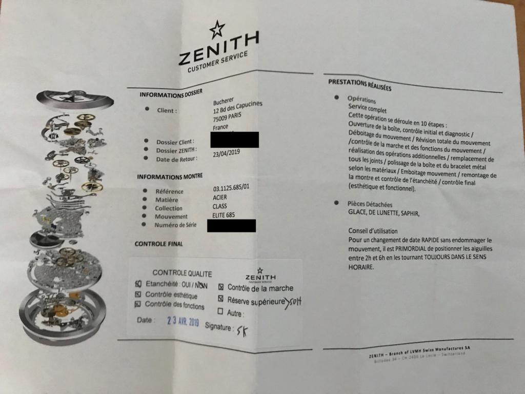 ZENITH - Le service Zenith au TOP Img_2711