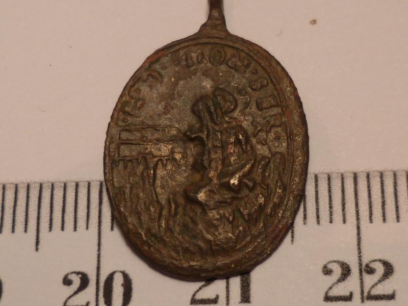 Médaille religieuse S . BENI ORA PIO II 11-20122