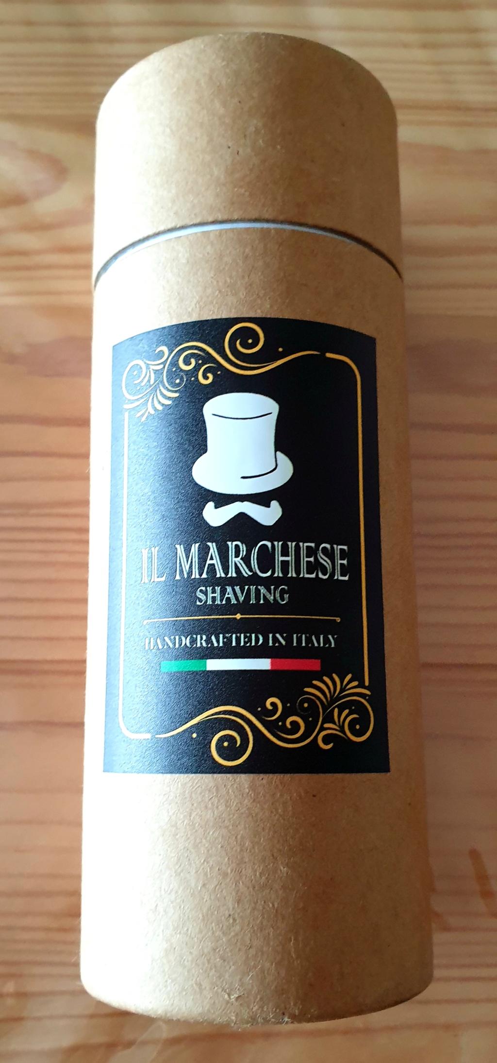 Blaireau Il Marchese shaving 20191024