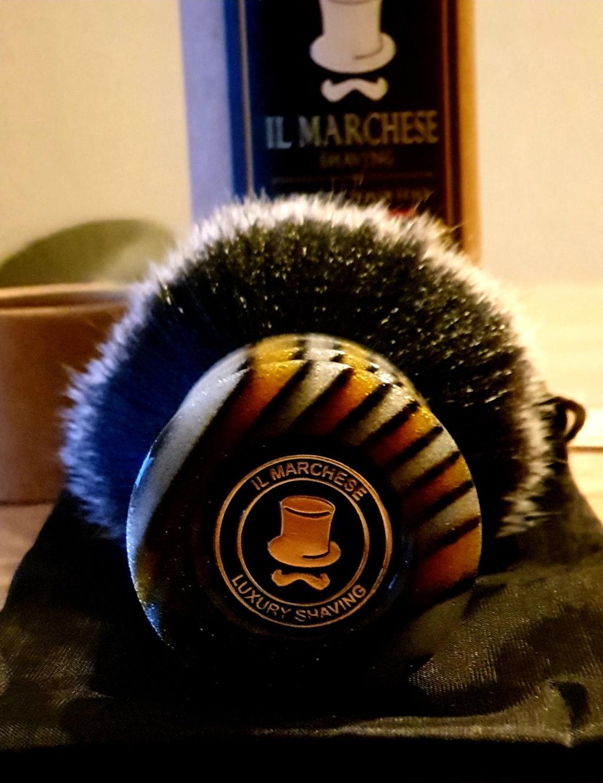 Blaireau Il Marchese shaving 20191028