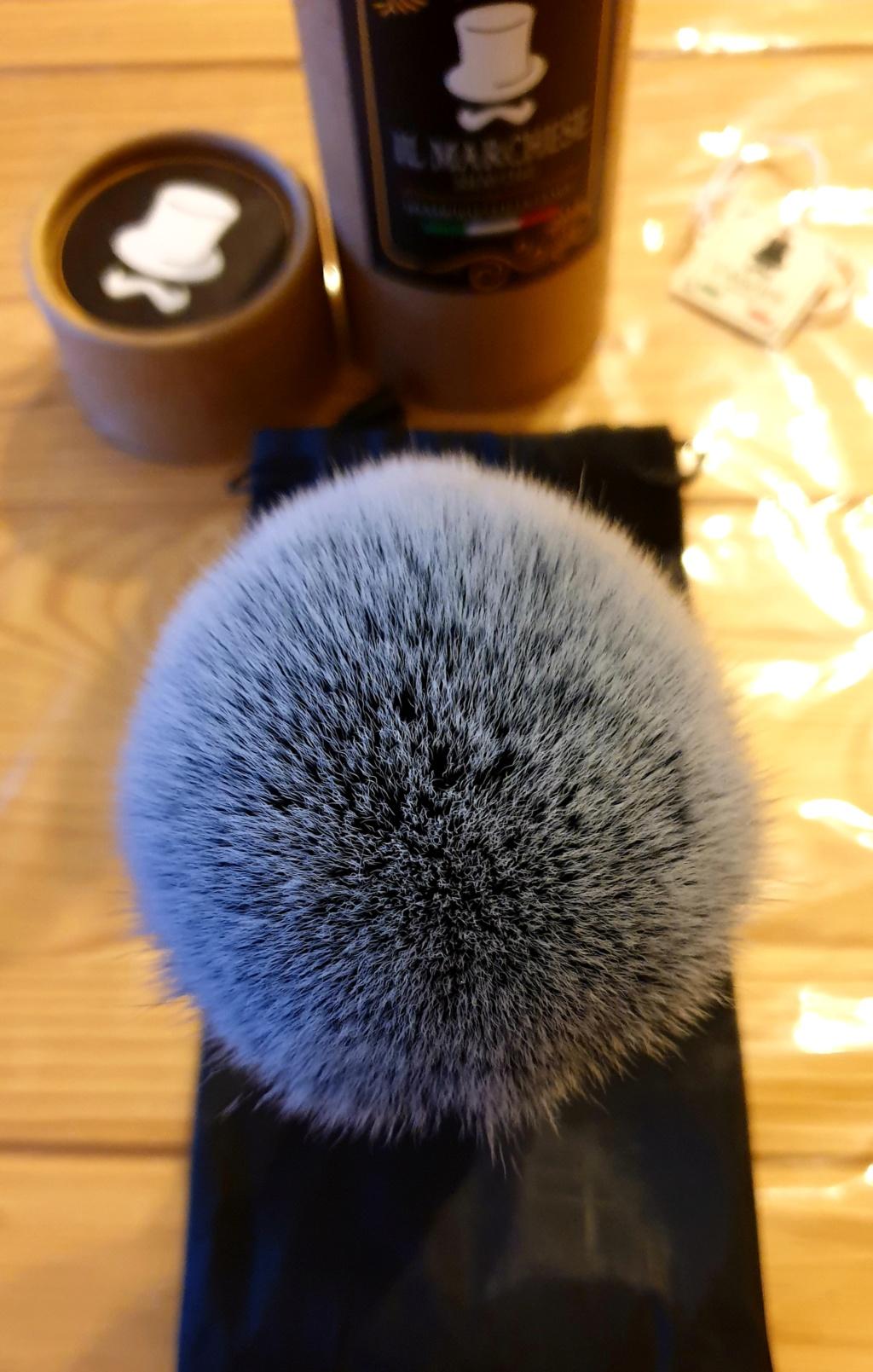 Blaireau Il Marchese shaving 20191030