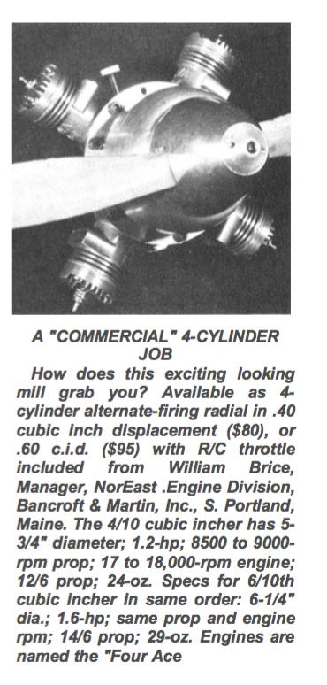 """Cox"" multi-cylinder engine Brice_10"
