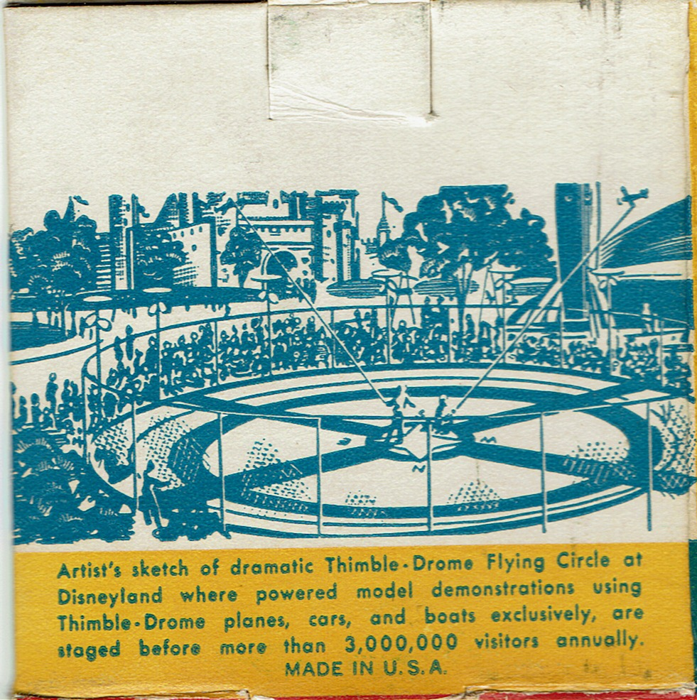 Disneyland Flight Circle Wen-Mac/Cox 1955-65 Cox11