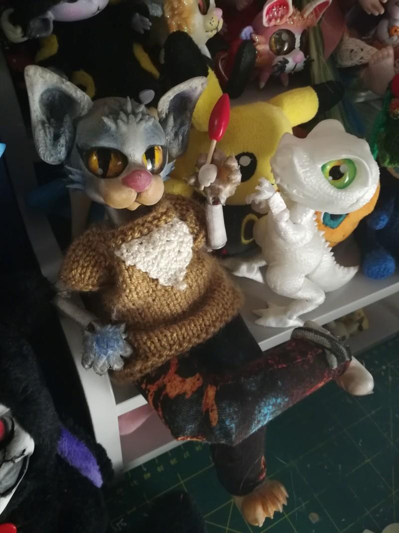 [MissNekotaku]Tiny toons Doll(modélisation et impression 3d) - Page 3 20181223