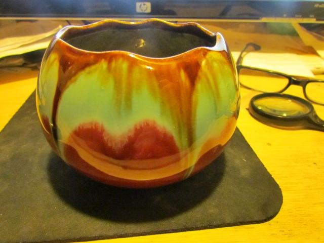 Putting a date on belgium Pottery  S.A. faïencerie de Thulin Img_2812