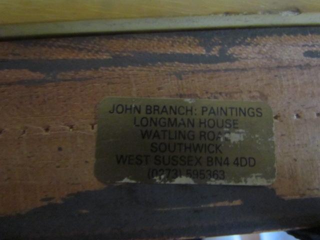 """MUST ID this oil painting from """"John Branch Paintings"""" Img_3014"""