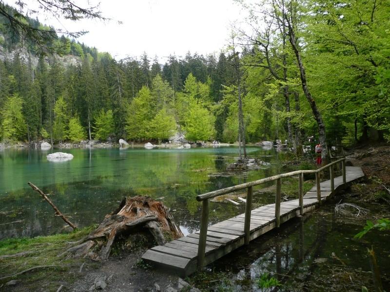 le mont blanc  Lac_ve10
