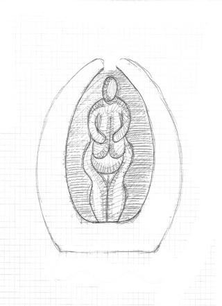 Vénus en mandorle Numari10