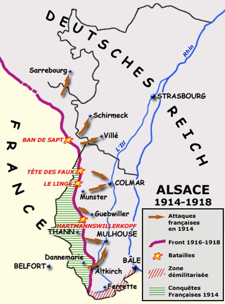 Le front en Alsace entre 1914 et 1918 Le_fro10