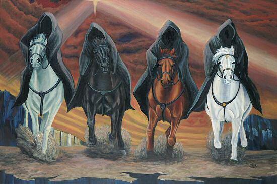 Les Cavaliers de l'Apocalypse dans la Bible Apocal14