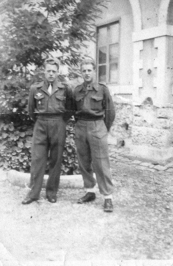 ROUSSEAU Edgard mon père  edgard  en algérie du 1er mai 1946 au 10 juin 1948 Les_fr12