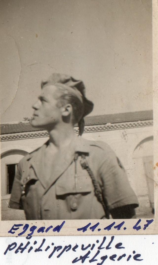 ROUSSEAU Edgard mon père  edgard  en algérie du 1er mai 1946 au 10 juin 1948 Plilip10