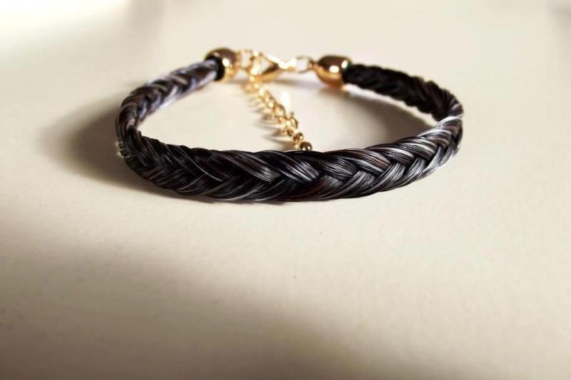 Bracelet Crins de cheval Bracel11