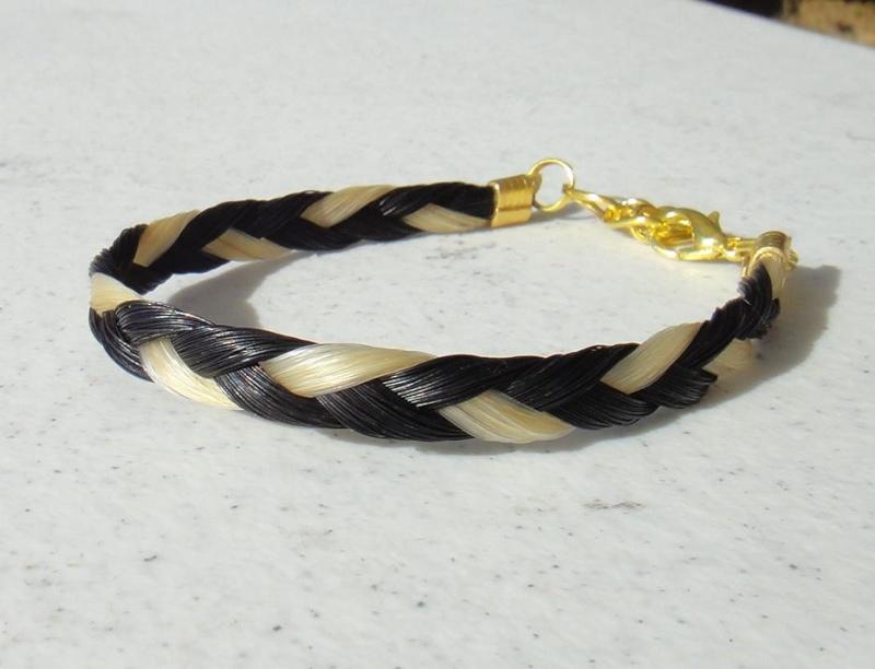 Bracelet Crins de cheval Bracel12