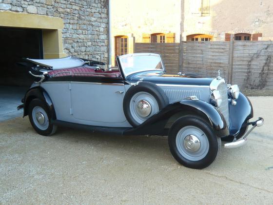 Les Mercedes des années 30/40 Merced11