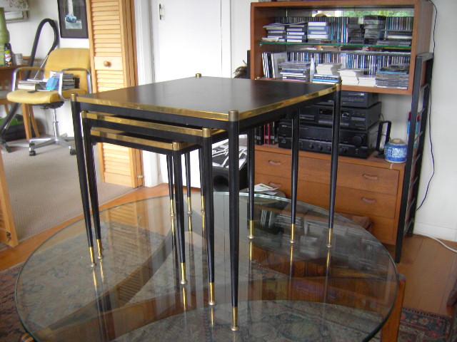 Ruhlmann nest of tables maybe? Ruhlma23