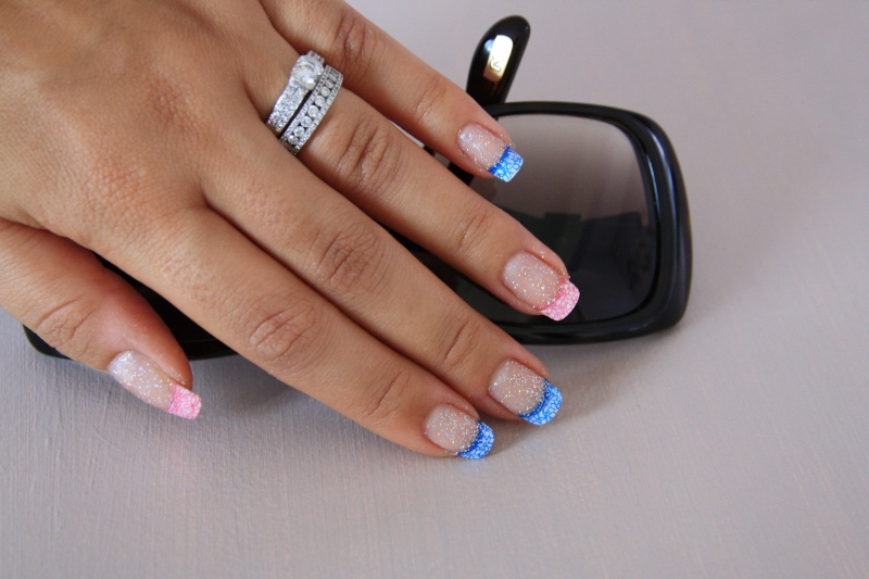 French Manucure aux ongles des mains  Img_8010