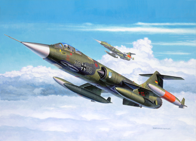 Montage  F-104 G Revell 1/32 1226_r10