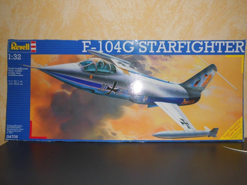 Montage  F-104 G Revell 1/32 F-104-10