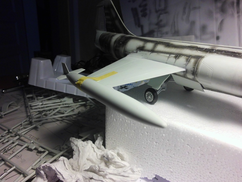 Montage  F-104 G Revell 1/32 F-104-13