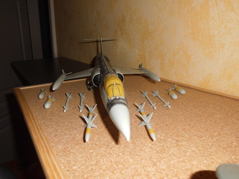 Montage  F-104 G Revell 1/32 F-104-18