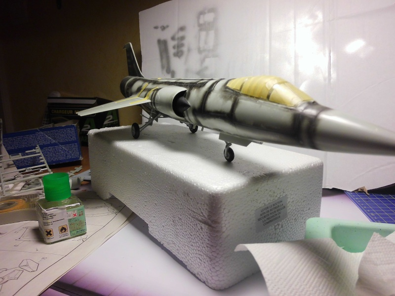 Montage  F-104 G Revell 1/32 F104-210