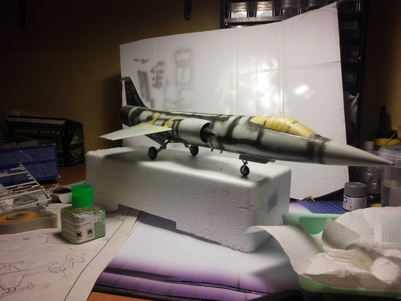 Montage  F-104 G Revell 1/32 F104-212